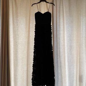 Aidan Mattox Bustier Gown